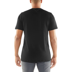 Icebreaker Tech Lite Rangitoto Triple SS Crewe Shirt Herr black